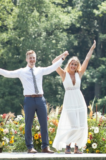 Wildflower Elopement In The Middle Of A Lake – White Poppy Weddings 21