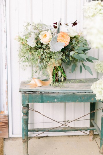 Eclectic Detail-filled Ohio Farm Wedding with a Donut Wall and Espresso Cart – Mandy Ford Photography 11