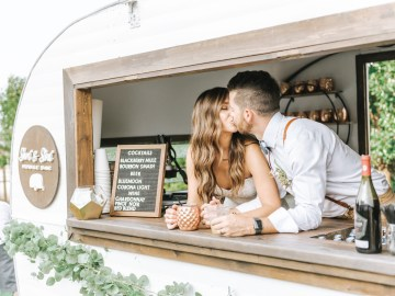 Eclectic Detail-filled Ohio Farm Wedding with a Donut Wall and Espresso Cart – Mandy Ford Photography 2