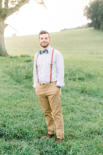 Eclectic Detail-filled Ohio Farm Wedding with a Donut Wall and Espresso Cart – Mandy Ford Photography 35