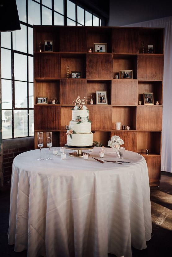 Glamorous and Industrial North Carolina Loft Wedding – Three Region Photography 29
