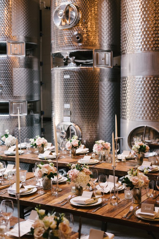 Industrial Chic Brooklyn Winery Wedding – Williamsburg Photo Studios 31