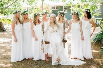 Relaxed Hawaiian Beach Wedding With Our Dream Rue De Seine Boho Wedding Dress – Absolutely Loved Photography 10