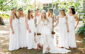 Hawaiian Beach Wedding With Our Dream Boho Wedding Dress