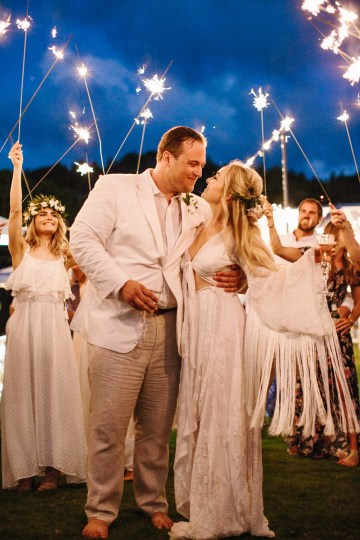 Relaxed Hawaiian Beach Wedding With Our Dream Rue De Seine Boho Wedding Dress – Absolutely Loved Photography 20