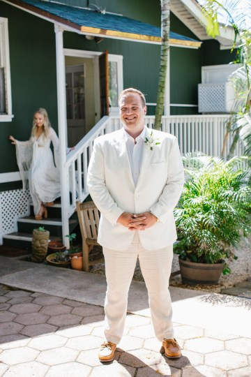 Relaxed Hawaiian Beach Wedding With Our Dream Rue De Seine Boho Wedding Dress – Absolutely Loved Photography 40