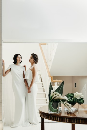 Sleek and Sexy Modern Wedding Inspiration in Emerald – Marcella Cistola 32