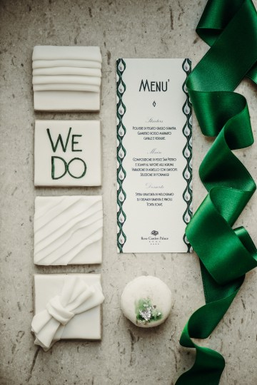 Sleek and Sexy Modern Wedding Inspiration in Emerald – Marcella Cistola 45