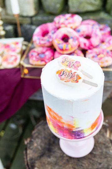 Vibrant Blossom Barn Wedding Inspiration With Creative Dessert Ideas – Deluxe Blooms – Natasha Cadman Photography 28