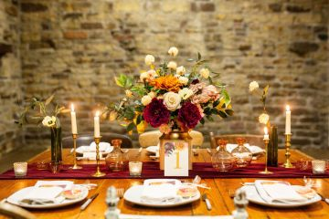 Vibrant Blossom Barn Wedding Inspiration With Creative Dessert Ideas – Deluxe Blooms – Natasha Cadman Photography 8