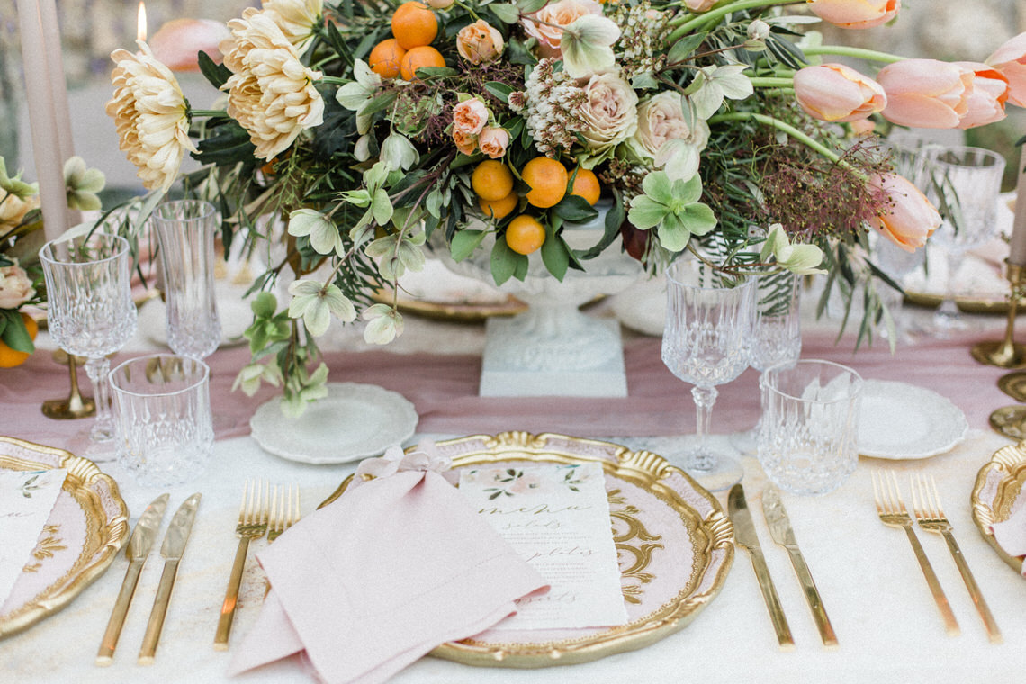 Whimsical Romantic Wedding Inspiration With Grace Kelly Vibes – Fiorello Photography 55