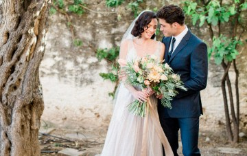 Romantic & Whimsical Wedding Inspiration With Grace Kelly Vibes