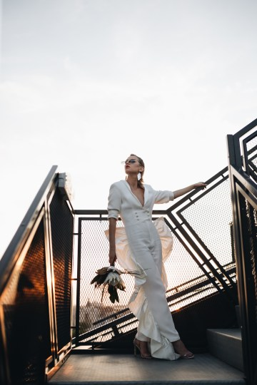 Avant-Garde Urban Bridal Inspiration from Bucharest – Wedding Stories – Moon Events 14