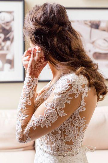 Beautiful Burgundy Hindu Fusion Wedding – Danielle Harris Photography 17