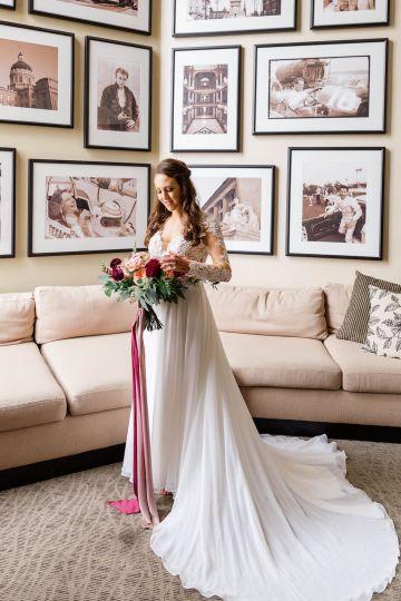 Beautiful Burgundy Hindu Fusion Wedding – Danielle Harris Photography 20