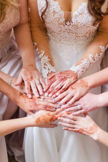 Beautiful Burgundy Hindu Fusion Wedding – Danielle Harris Photography 21