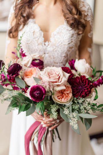 Beautiful Burgundy Hindu Fusion Wedding – Danielle Harris Photography 26