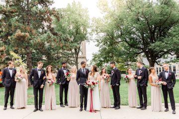 Beautiful Burgundy Hindu Fusion Wedding – Danielle Harris Photography 3
