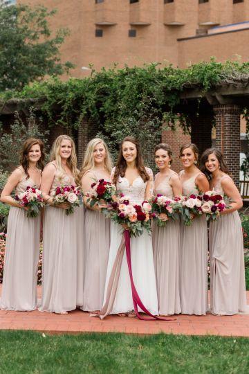 Beautiful Burgundy Hindu Fusion Wedding – Danielle Harris Photography 33