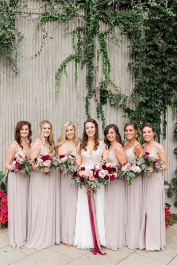 Beautiful Burgundy Hindu Fusion Wedding – Danielle Harris Photography 44