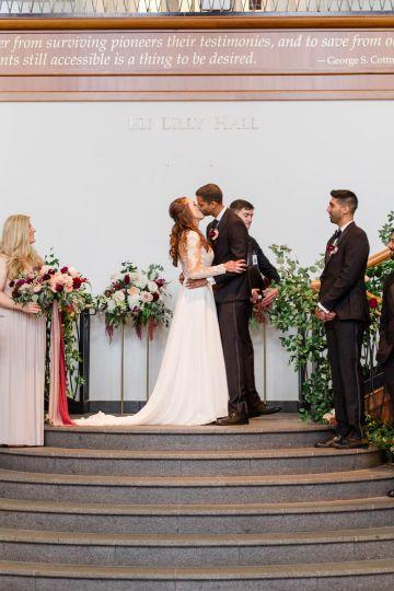 Beautiful Burgundy Hindu Fusion Wedding – Danielle Harris Photography 49