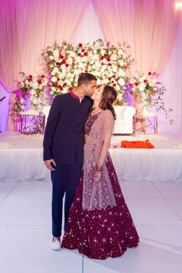 Beautiful Burgundy Hindu Fusion Wedding – Danielle Harris Photography 61