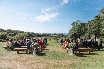 Cheery Marthas Vineyard Summer Wedding – Lena Mirisola Weddings 55