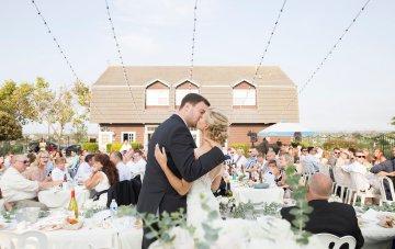 Classic California Wedding With Danish Traditions