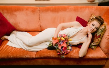 Colorful Retro Elopement Inspiration