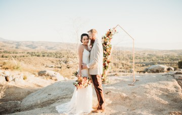 Copper, Gold & Rust Boho Wedding Inspiration