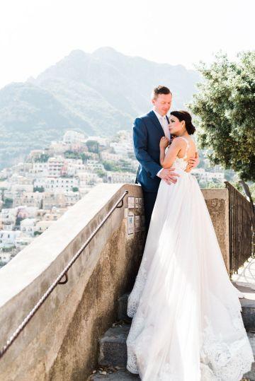 Dramatic Breathtaking Positano Destination Wedding – Lace and Luce Photography 16