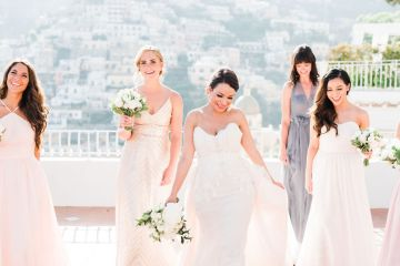 Dramatic Breathtaking Positano Destination Wedding – Lace and Luce Photography 2