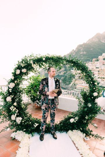 Dramatic Breathtaking Positano Destination Wedding – Lace and Luce Photography 20
