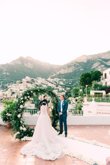 Dramatic Breathtaking Positano Destination Wedding – Lace and Luce Photography 22