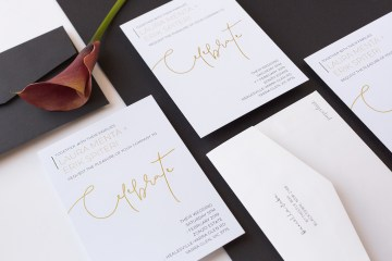 Gorgeous Custom Wedding Invitations By Paperlust 14