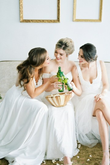Monica Phoebe and Rachel Friends Bridal Inspiration – Lora Grady Photography 40