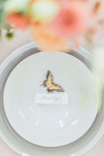 Pretty Butterfly Inspired Wedding Ideas – Anja Schneemann Photography 14