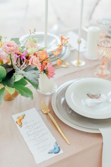 Pretty Butterfly Inspired Wedding Ideas – Anja Schneemann Photography 17