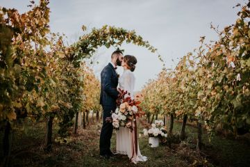 Romantic Vintage Italian Winery Wedding Inspiration – Giulia Santarelli 4