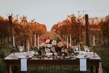 Romantic Vintage Italian Winery Wedding Inspiration – Giulia Santarelli 9