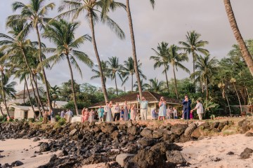 Tropical Maui Lava Field Wedding – Marlayna Photography 12