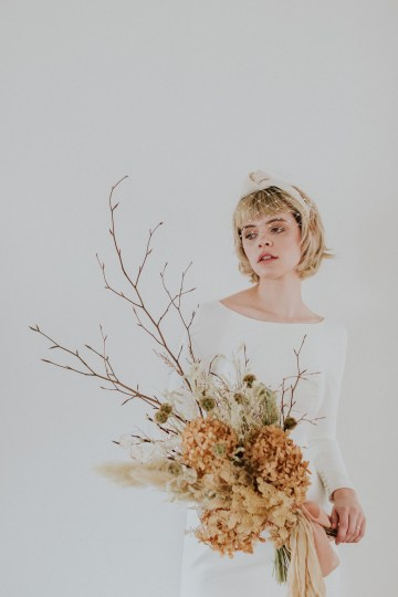 Dried Florals and Modern Minimalistic Wedding Inspiration – Maja Tsolo Photography 14