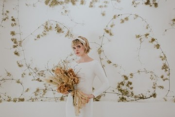 Dried Florals and Modern Minimalistic Wedding Inspiration – Maja Tsolo Photography 3