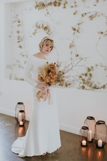 Dried Florals and Modern Minimalistic Wedding Inspiration – Maja Tsolo Photography 30