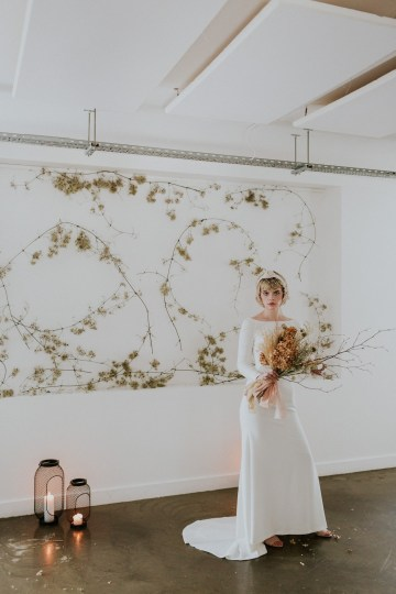 Dried Florals and Modern Minimalistic Wedding Inspiration – Maja Tsolo Photography 31