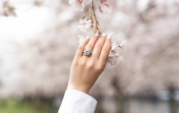 Vintage-Inspired MiaDonna Engagement Rings For The Eco-Friendly Bride