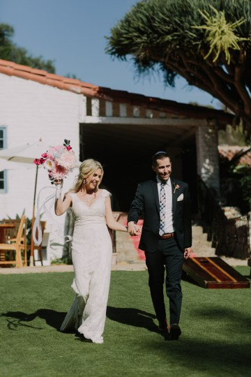 Colorful Boho Palm Springs Jewish Wedding – Lets Frolic Together 38