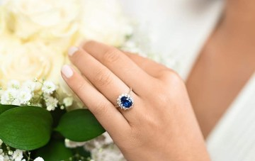 60+ Gemstone Engagement Rings In Every Color Of The Rainbow (& What They Mean!)