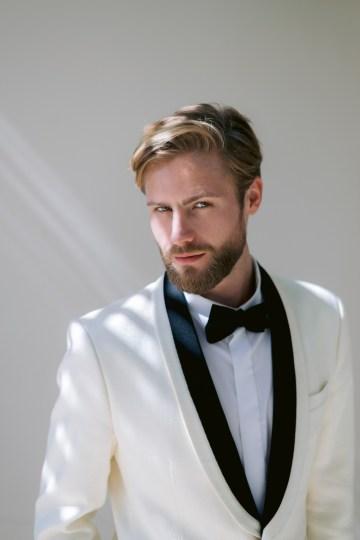 Modern Fashion-Forward Black White and Pink Greek Wedding Inspiration – Panos Demiropoulos 14