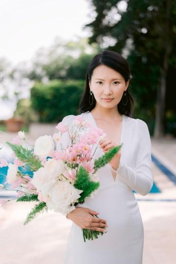 Modern Fashion-Forward Black White and Pink Greek Wedding Inspiration – Panos Demiropoulos 25